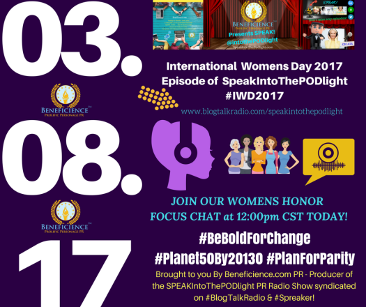 INternationalWomensDay2017 SpeakIntoThePODlight on BlogTalksRadio 03.08.17 (1)
